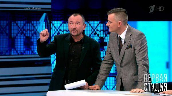 Артем Шейнин в ток-шоу «Первая студия»