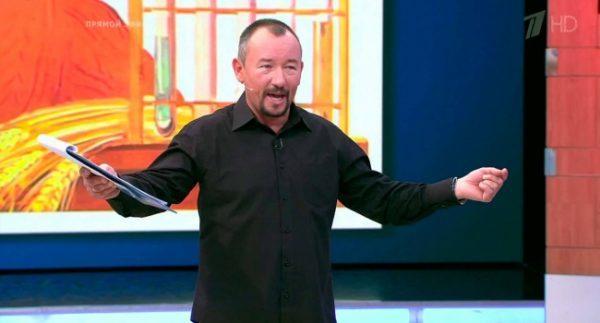 Артем Шейнин в программе «Время покажет»