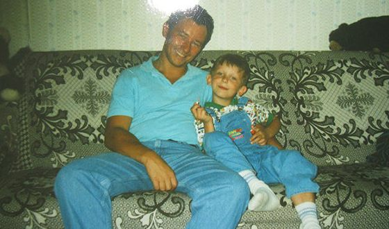 Артем Шейнин и его сын Дмитрий