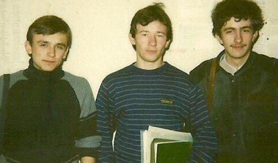 Артем Шейнин (в центре) - студенческие годы