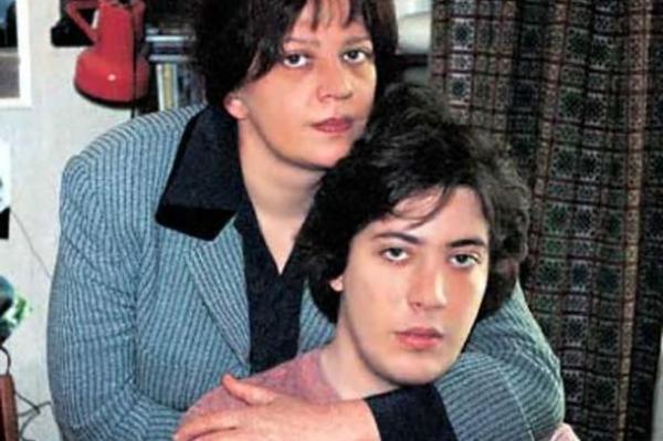 Артемий Лебедев с мамой Татьяной Толстой