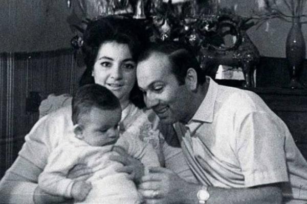 Бедрос Киркоров с женой Викторией Лихачевой и сыном Филиппом