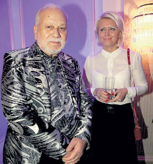 Бедрос Киркоров и его спутница Татьяна
