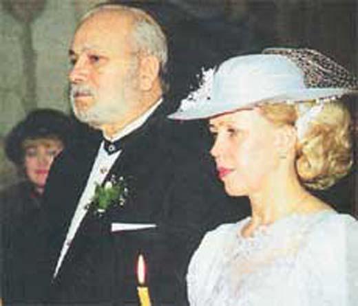 Венчание Людмилы Семеновой и Бедроса Киркорова