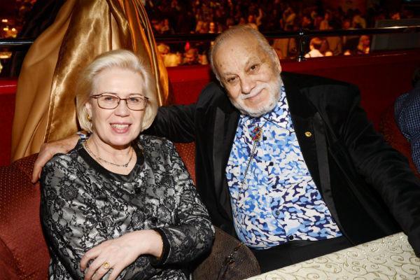 Бедрос Киркоров с женой Людмилой