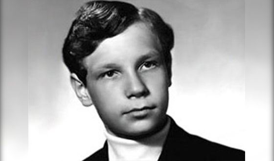 Борис Моисеев в юности
