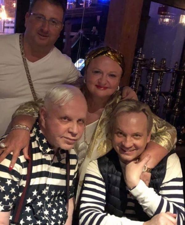 Борис Моисеев с друзьями в Майями