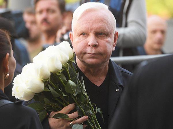 На фото: Борис Моисеев на похоронах Иосифа Кобзона