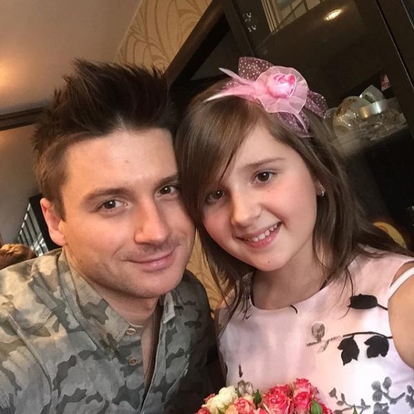 Сергей Лазарев и его племянница Алина