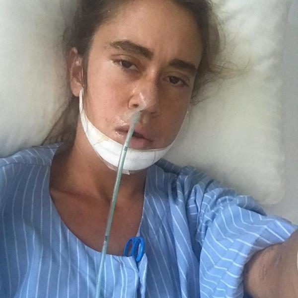 На фото: Татьяна Плаксина после операции