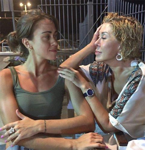 На фото: Любовь Успенская с дочерью Татьяной Плаксиной