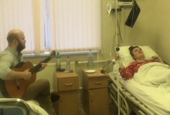 Елена Ваенга в больнице