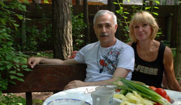 На фото: родители Даниила Глейхенгауза