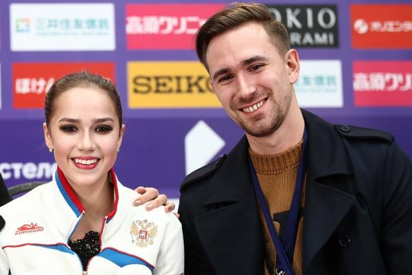 На фото: Даниил Глейхенгауз и Алина Загитова