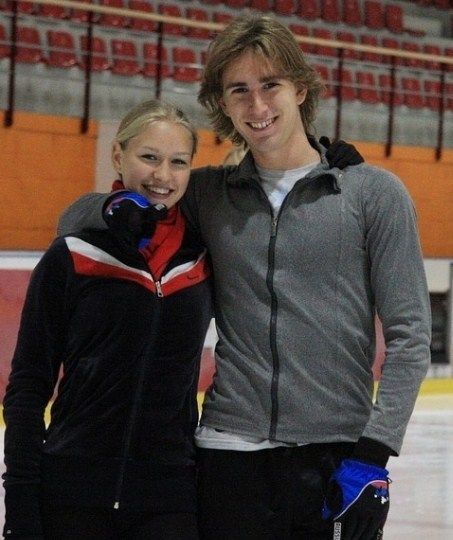 На фото: Даниил Глейхенгауз и Ксения Коробкова