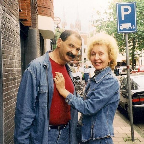 На фото: родители Дениса Клявера