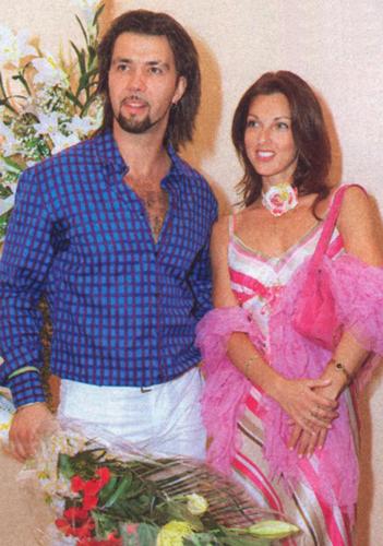 На фото: Денис и Елена Шестакова