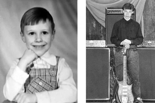 Денис Майданов в детстве и юности