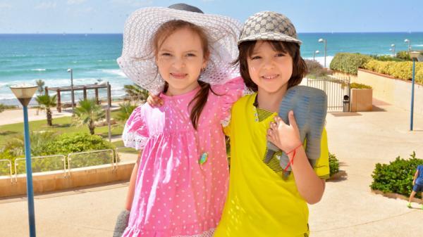 На фото: Алла-Виктория и Мартин