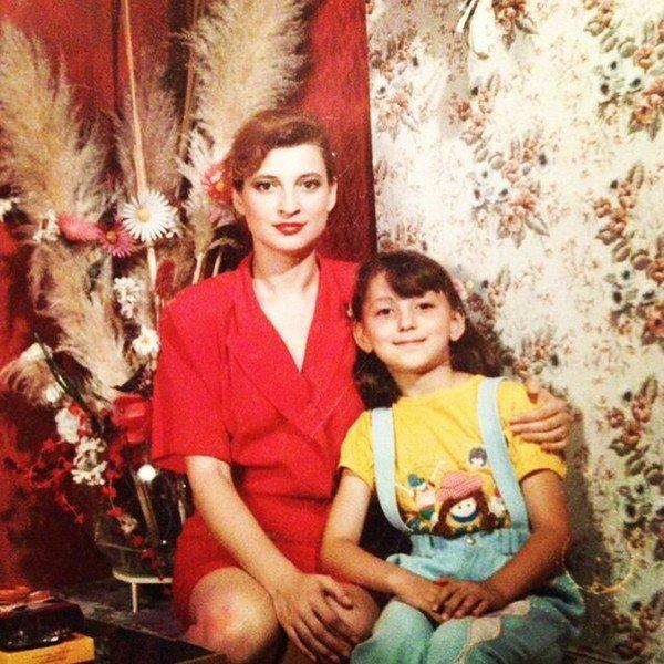 На фото: первая жена Григория Лепса Светлана Дубинская с дочерью Ингой