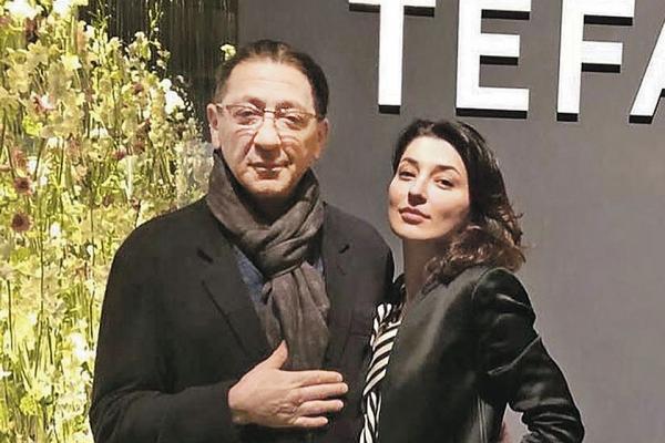 Инга Лепс с отцом