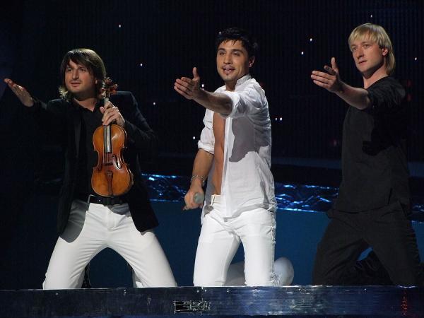 Дима Билан на «Евровидении»