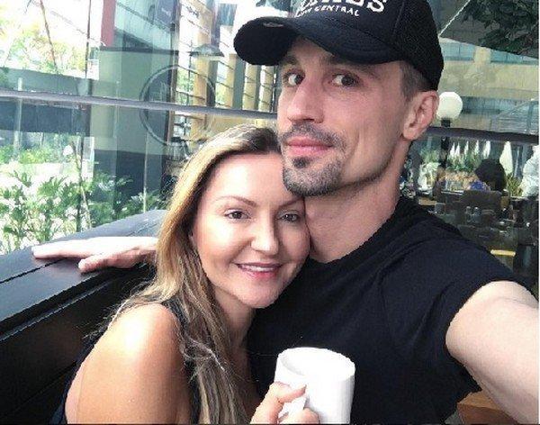 На фото: Дима Билан и Юлия Лима