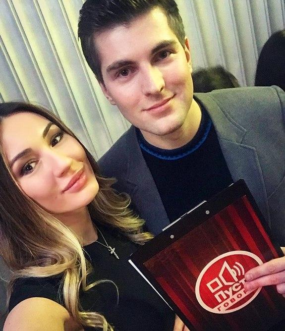 Дмитрий Борисов и Мишель Серова