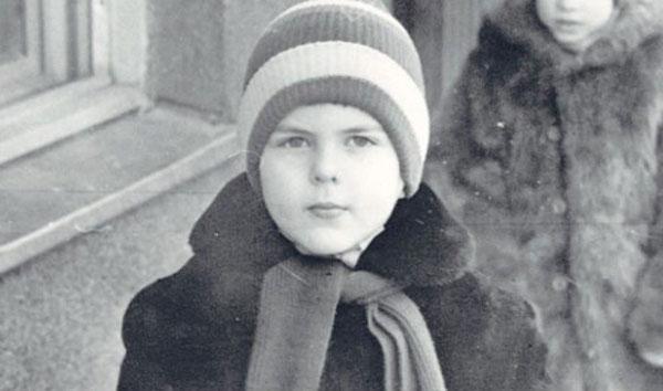 На фото: Дмитрий Борисов в детстве