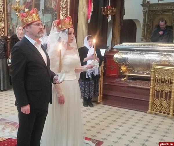 Венчание Дмитрия Месхиева с женой Илоной