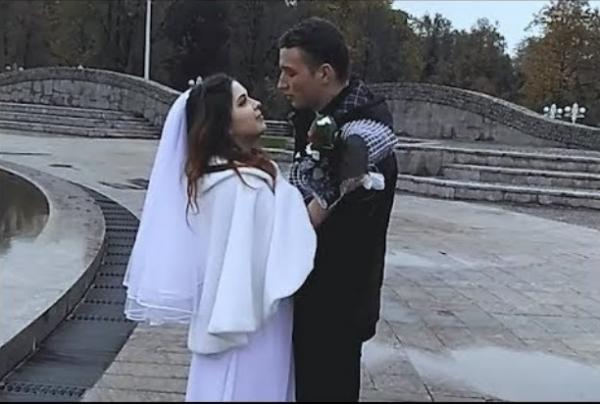 На фото: свадьба Эдварда Била