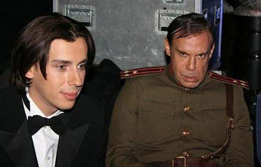 На фото: Ефим Шифрин и Максим Галкин