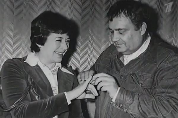 Рязанов и Нина Скуйбина