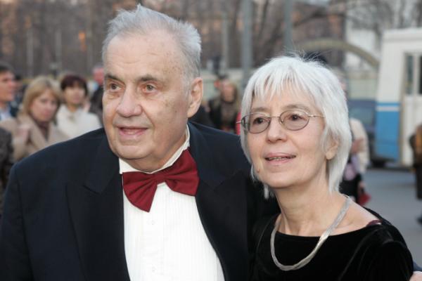 На фото: Эльдар Рязанов и Эмма Абайдуллина