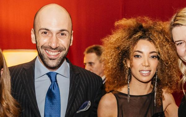 На фото: Евгений Папунаишвили и Салима Бижабер