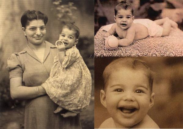 На фото: Фредди Меркьюри в детстве с мамой