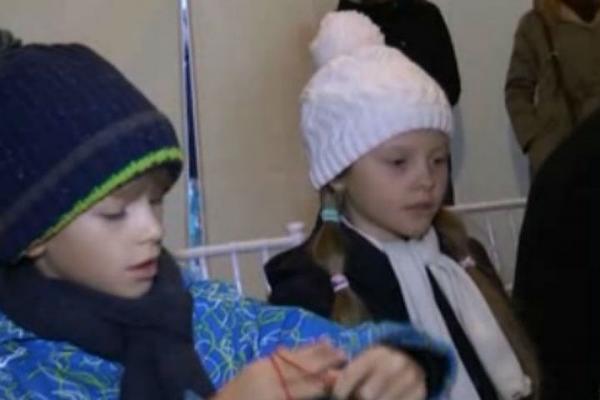 На фото: дети Глеба Никитина