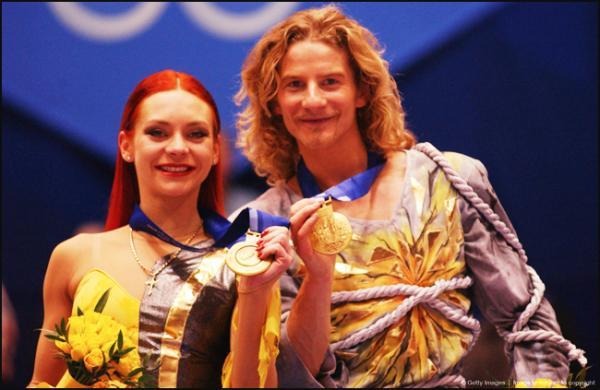 Чемпионы Мира Гвендаль Пейзера и Марина Анисина