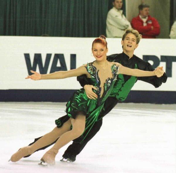 На фото: Марина Анисина и Гвендаль Пейзера