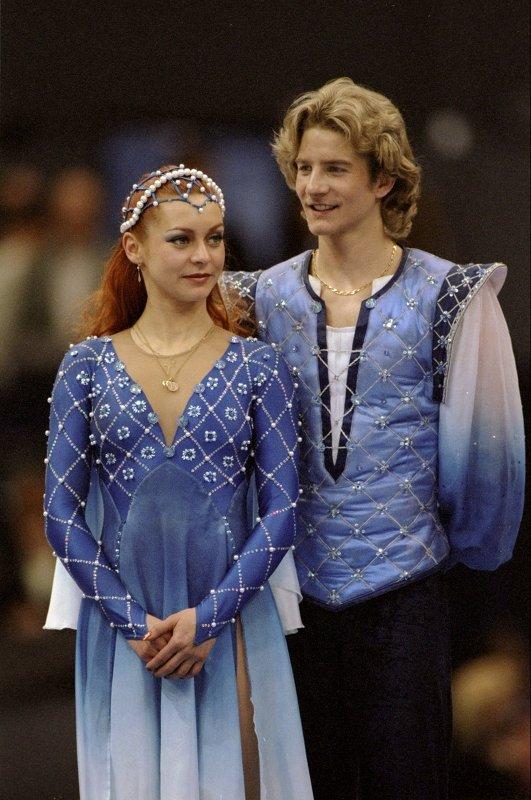 На фото: Гвендаль Пейзера и Марина Анисина - выступление «Ромео и Джульетта»