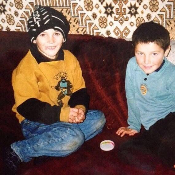 Хабиб Нурмагомедов в детстве