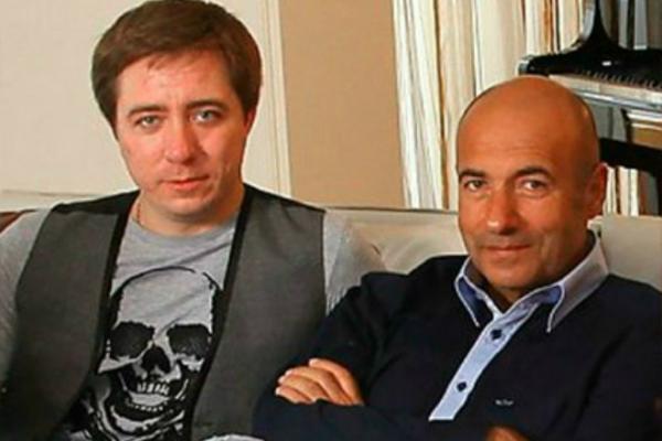 На фото: Игорь Крутой с сыном Николаем