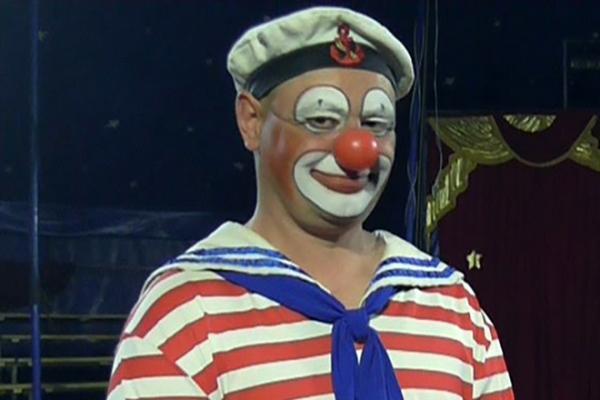 Игорь Маменко на арене цирка