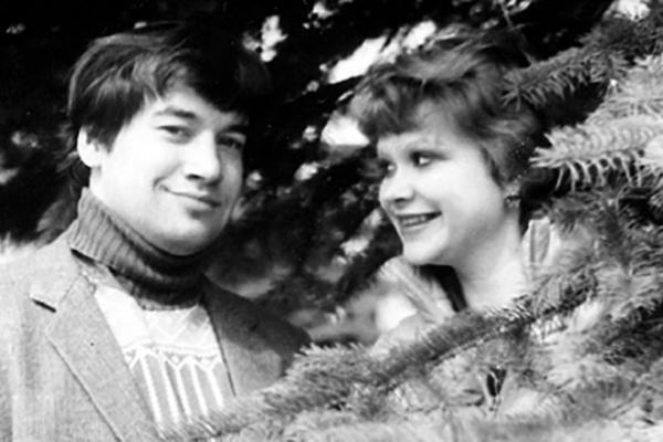 На фото: Игорь Маменко со своей женой