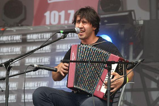 На фото: Игорь Растеряев на фестивале