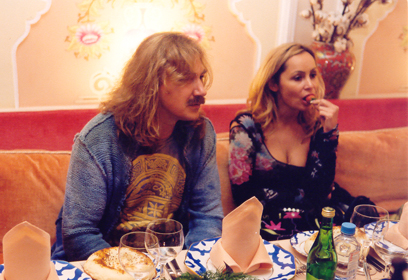 На фото: Игорь Николаев и Анжела Кулаковская