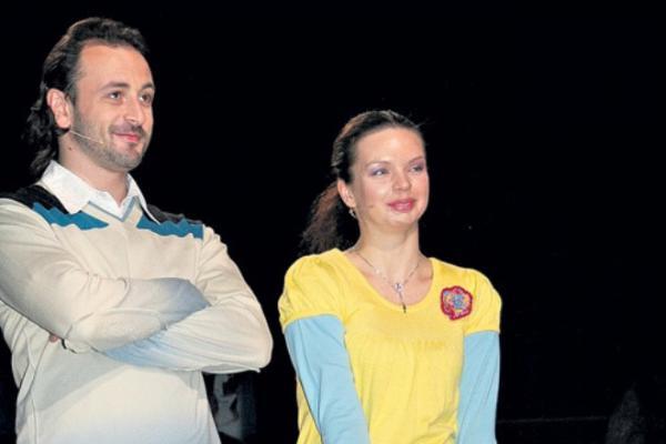 Илья Авербух и Алиса Гребенщикова