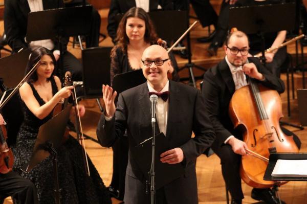 Юлиан Макаров на открытии Международного конкурса «Золотая арфа»