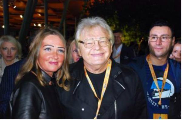 Юрий Антонов с третьей женой Анной
