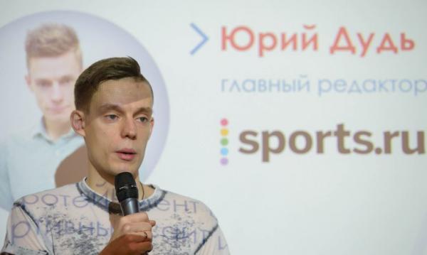 На фото: Юрий Дудь стал гендиректором Sports.ru